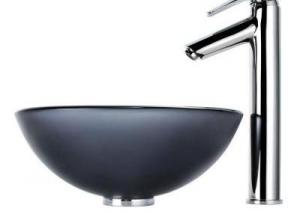 PN009 Glass Vessel Sink