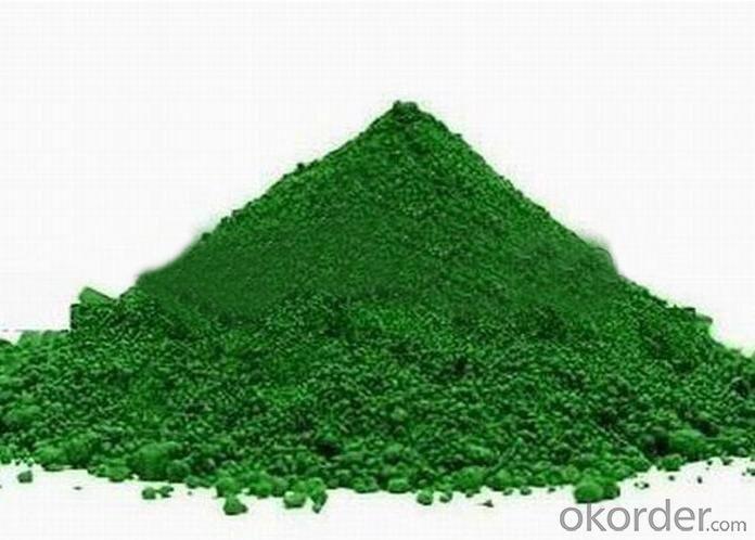 Inorganic Pigment Chrome Oxide Green Cr2o3