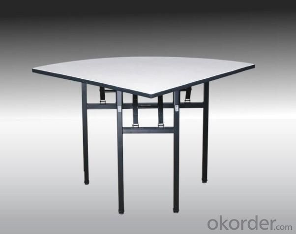 Semi-Round Dining Table 48/96