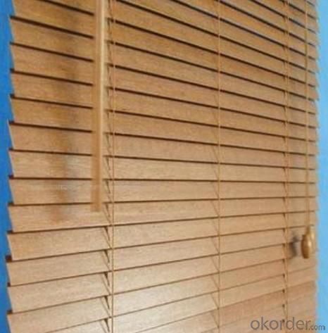 High Quality Motorized Wooden Venetian Blinds