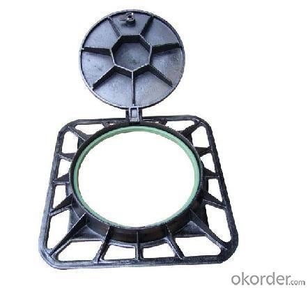 E600 Ductile Iron  Manhole Cover
