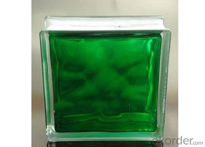 Inner Greean Glass Block