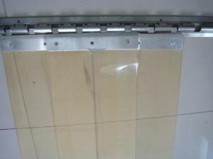 PVC Strip Curtain with Factory-sale Normal Tempt Grade