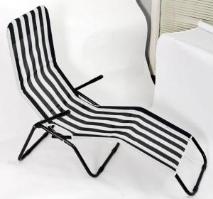 Foldable Steel Textilene Beach Chair