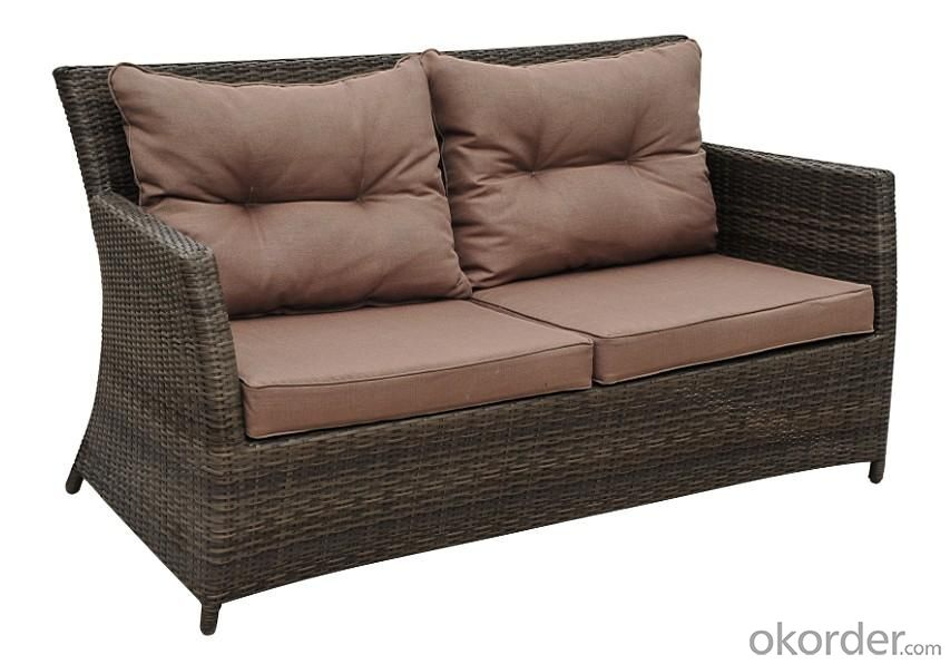 Aluminium Rattan Sofa Set-03