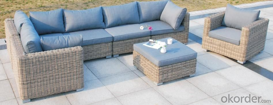 Secontional Rattan Sofa Set