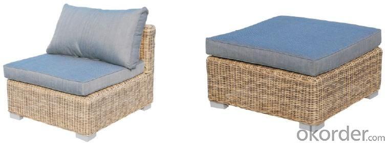 Secontional Rattan Sofa Set