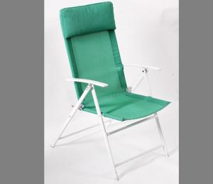 Foldable Steel Camping Chair
