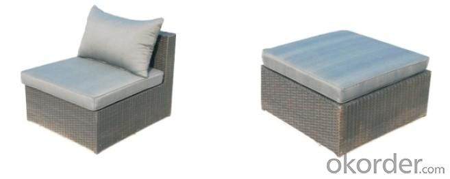 Aluminium Rattan Sectional Sofa Sets