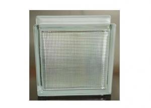 Line Lite Clear Decorative Glass Block