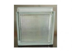Line Lite Clear Decorative Glass Block