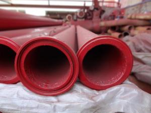 Concrete Pump Delivery Pipe 3M ZX Flanges