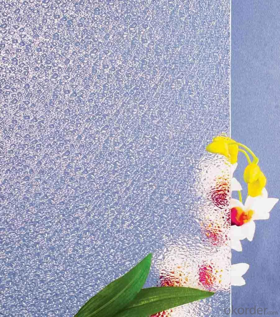 Patterned Glass -Crystal