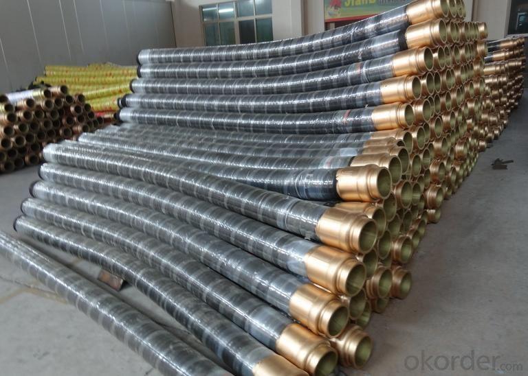 Concrete Hose Suppliers : Buy concrete pump rubber end hose  m price size weight