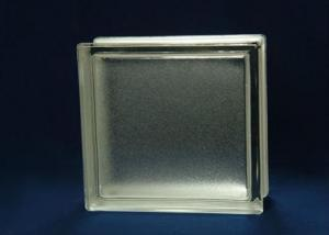 Decorative Clear Mist Block of Glass