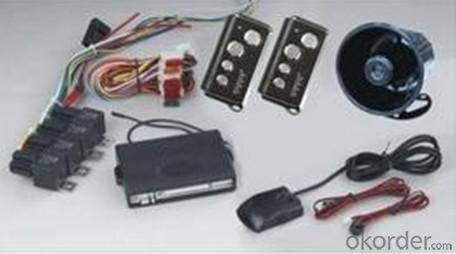 Remote Arming/Disarming Car Alarm 1884 with Automatic Door Lock/Unlock