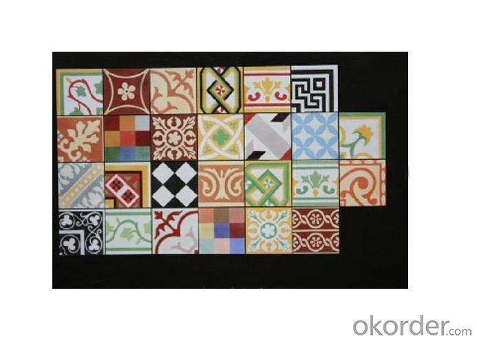 Handmade Encaustic Cement Floor Tile