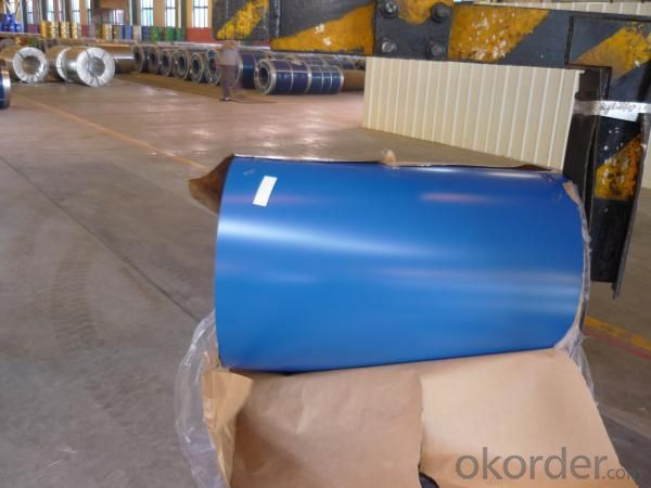 Blue Prepainted Galvanized Steel-Hot Sell