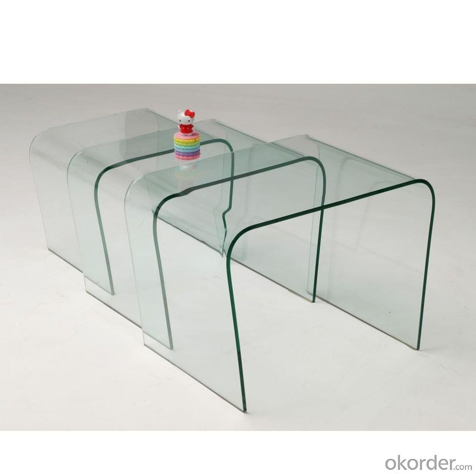 High-temperature Hot-bent Glass