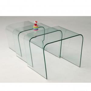 High-temperature Hot-bent Glass