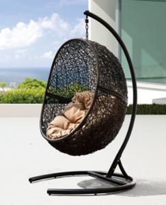 Steel Rattan Hanging Chair HC016