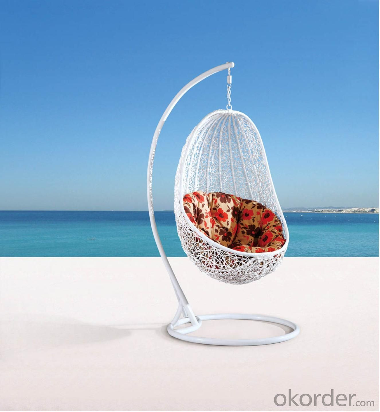 Steel Rattan Hanging Chair HC028