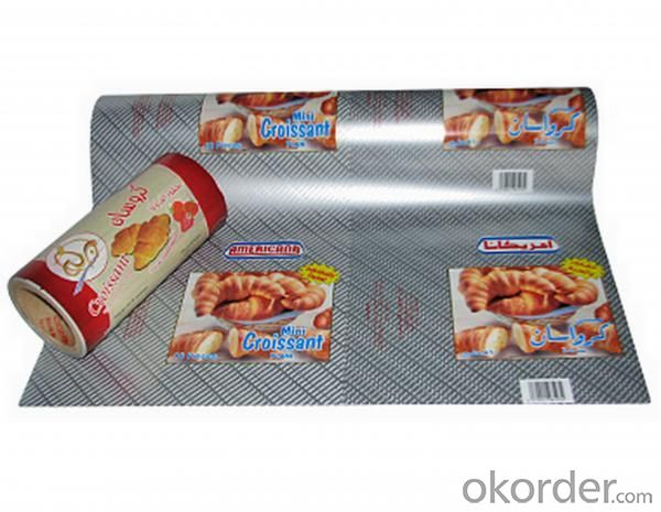 Aluminium Foil for chocolate packaging