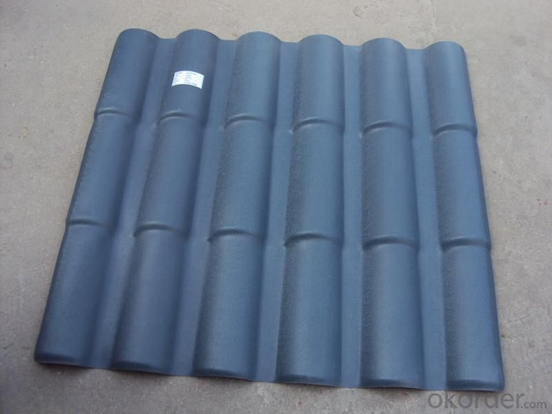 GE ASA Synthetic Resin Roma Roof Tile with Competitive Price