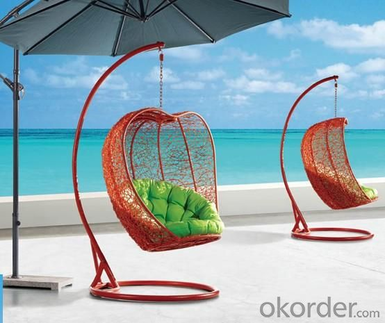Steel Rattan Hanging Chair HC015