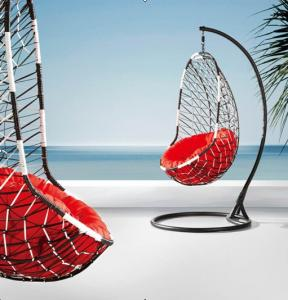 Steel Rattan Hanging Chair HC026