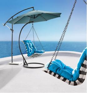 Steel Rattan Hanging Chair HC004