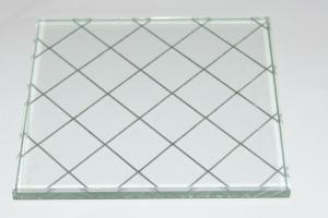 Fire-resistant Wired Glass
