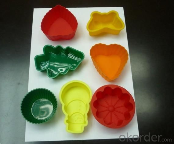 Heart Shape Silicone Cake Mold