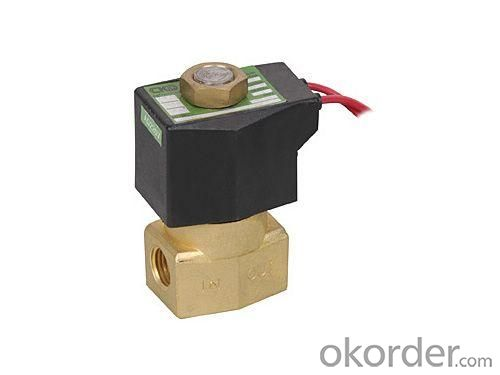Brass Electromagnetic Automatic Controls Solenoid Valve