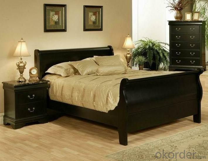 Buy bedroom furniture set in american style price size weight model width American home furniture bed frames