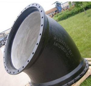 ISO2531 Double Flanged Bend With Low Price