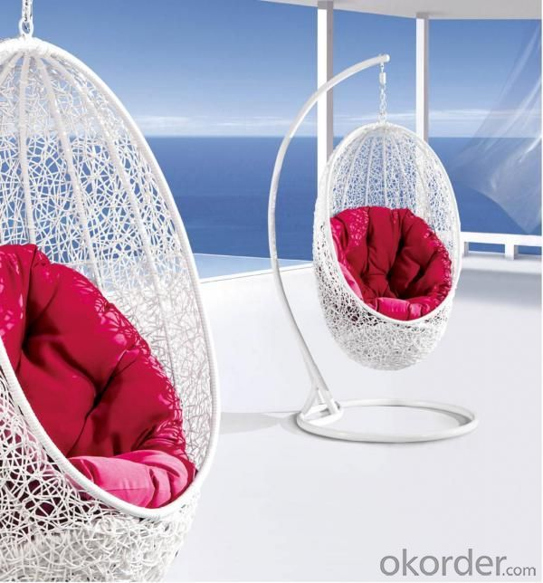 Steel Rattan Hanging Chair HC007