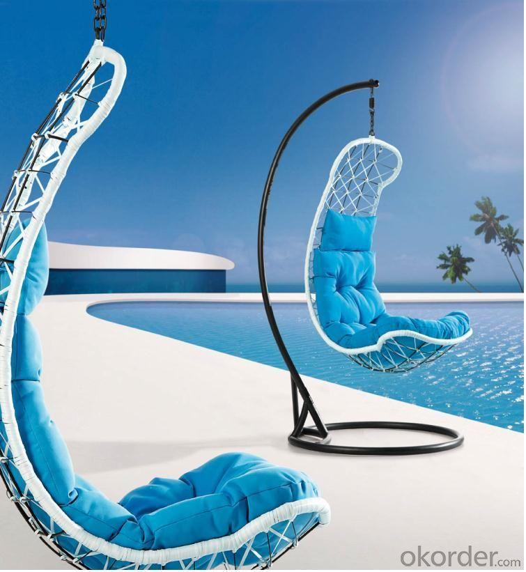 Steel Rattan Hanging Chair HC006