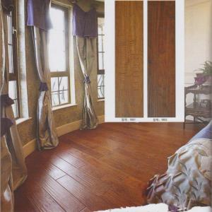 Green Laminated Flooring