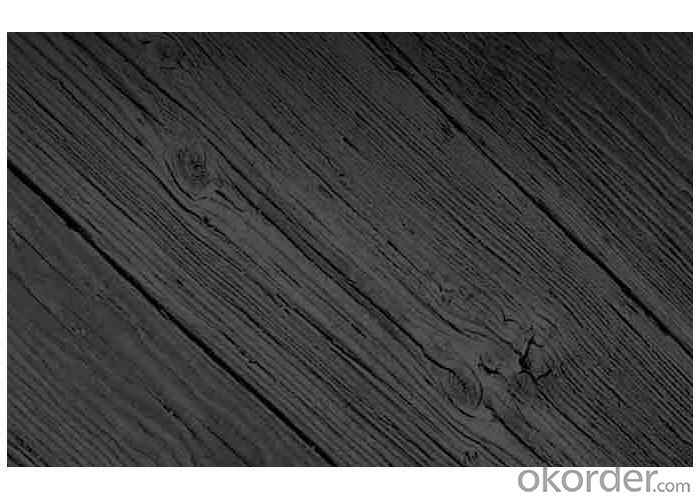 Deep Carbonized Pine Wood