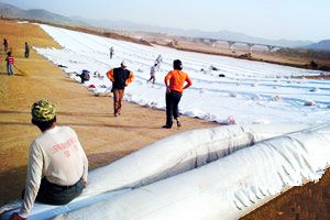 High Quality Spun-bond Geotextile