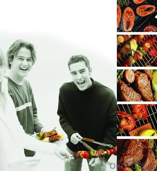 Hamburger Charcoal BBQ Grill--HAHG18