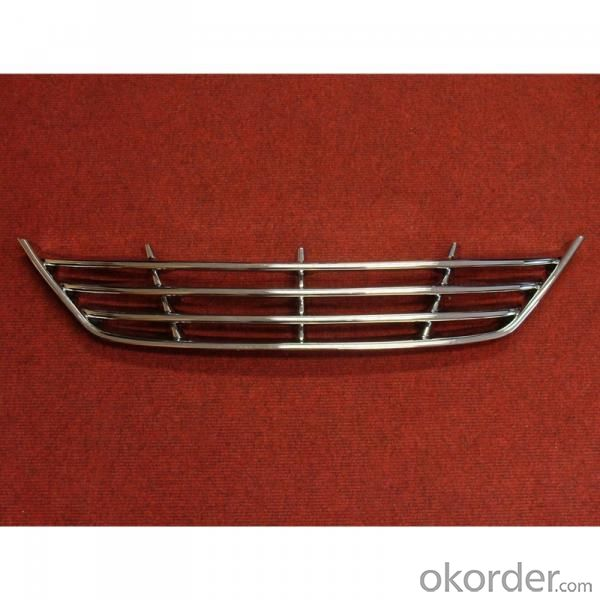 Car grille for Volkswagen GOLF 6 Grille ABS Mesh Grille SN-VW-G-03