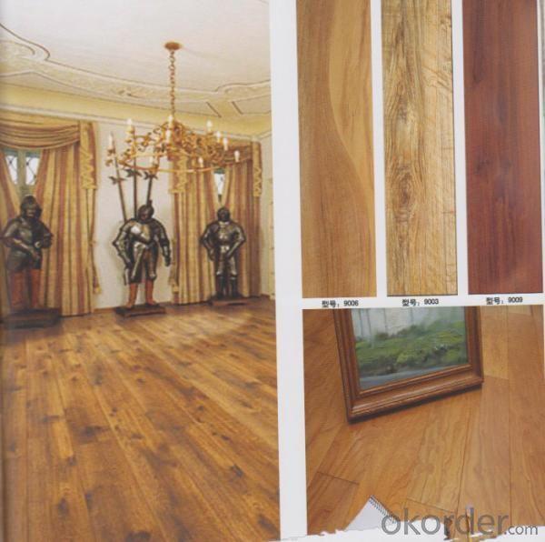Weather Resistent Laminated Flooring