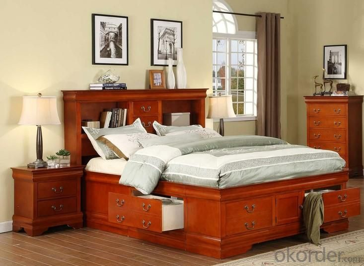 Bedroom Furniture Set with American Luxury King Size