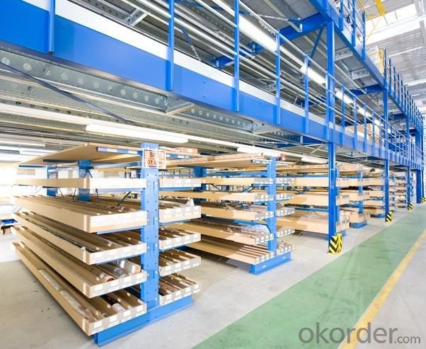 Mezzanine Floor Pallet Racking System