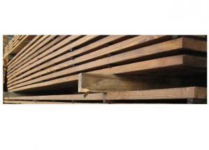 Deep Carbonized Oak Wood
