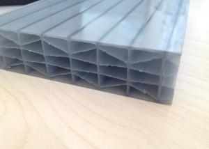 UV Protected 6-Wall D-Polycarbonate Sheet 100% Virgin Bayer Material