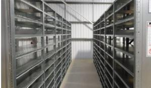 Moving Shelving System