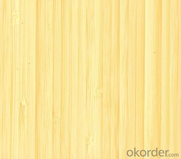 Natural Bamboo Floor Boards Vertical